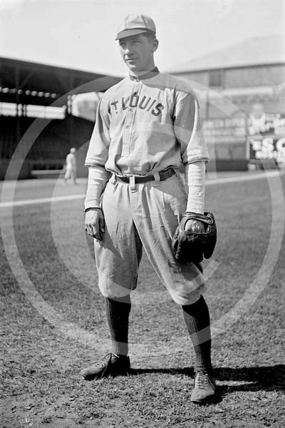 Del Pratt, St. Louis Browns AL, 1912.