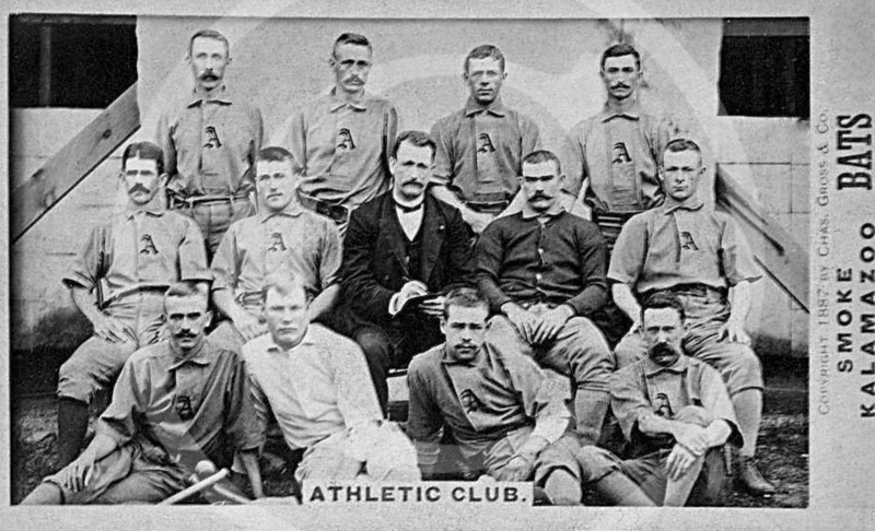 Athletic Baseball Club 1887.