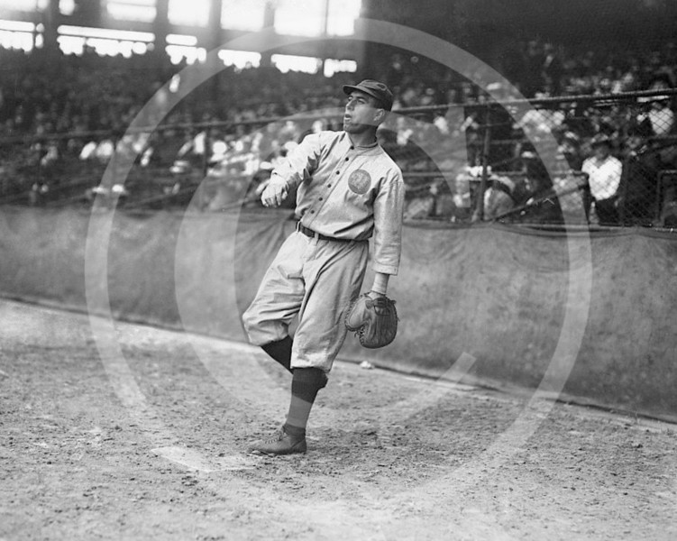 Fred Mitchell, coach, Boston Braves NL, 1916.