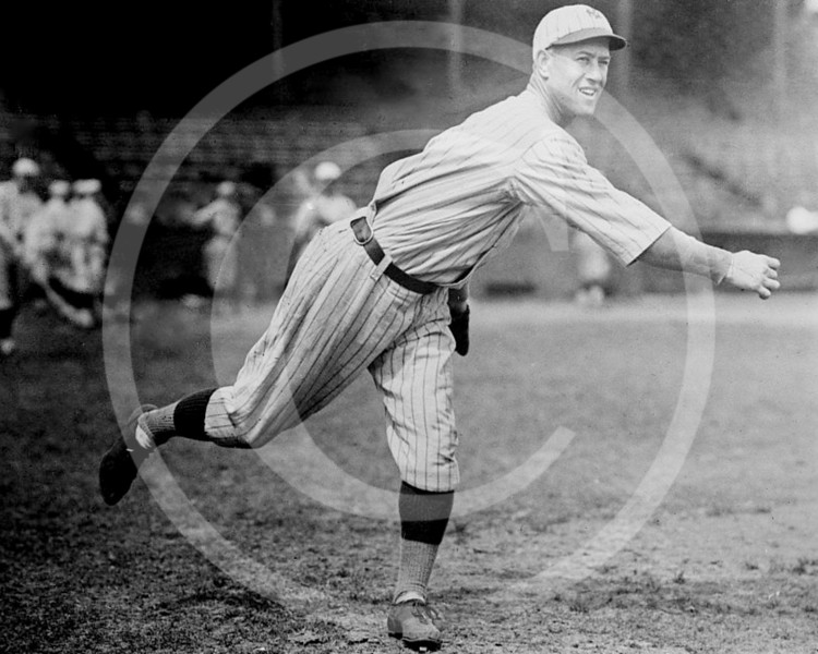 Bullet Joe Bush, New York Yankees AL, 1922.