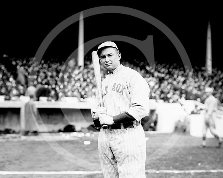 Duffy Lewis, Boston Red Sox AL, 1912.