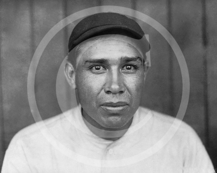 Chief (John Tortes) Meyers, catcher for the New York Giants NL, 1910.