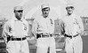 Bris Lord, Rube Oldring and Danny Murphy, outfielders, Philadelphia Athletics AL, 1911 World_Series.