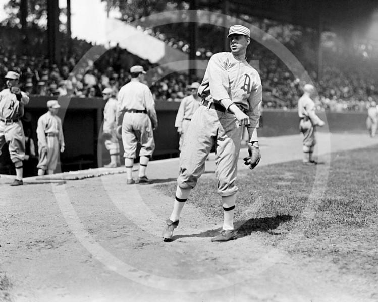 Carroll Boardwalk Brown, Philadelphia Athletics AL, 1913.