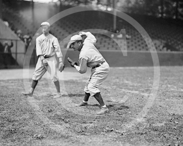 Bobby Wallace, St. Louis Browns AL,  1913.