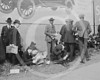 Baseball fans at Ebbets Field, New York City, for World Series game 6 Oct 1920.
