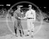 Eddie Plank - Johnny Evers, Boston Braves NL & Eddie Plank, Philadelphia Athletics AL, 1914.