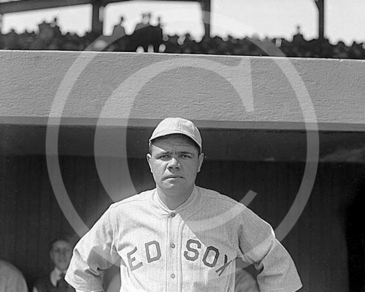 Babe Ruth, Boston Red Sox AL, 1919.