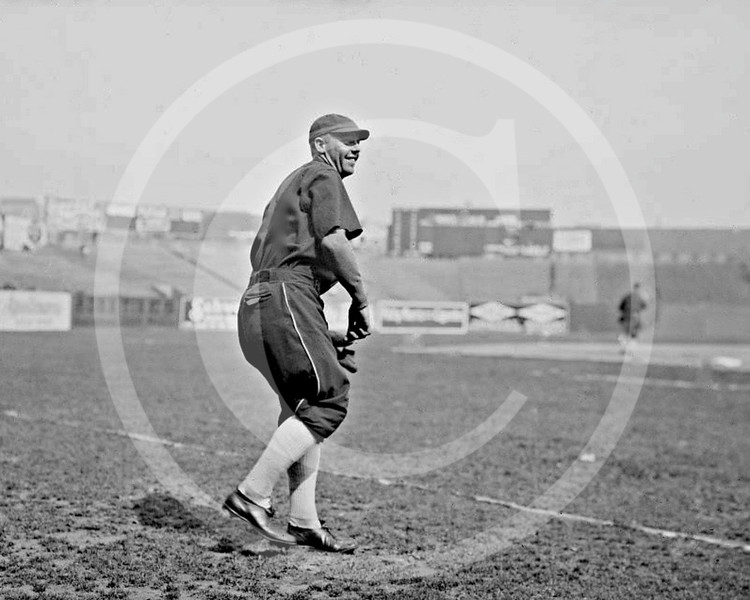 Ewell Reb Russell, Chicago White Sox AL, 1915.
