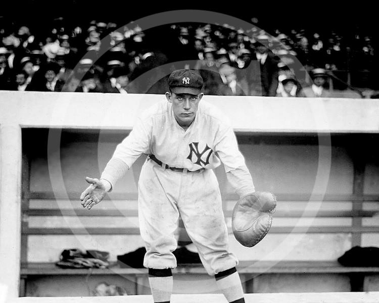 Dick Gossett, New York Yankees AL, 1913.