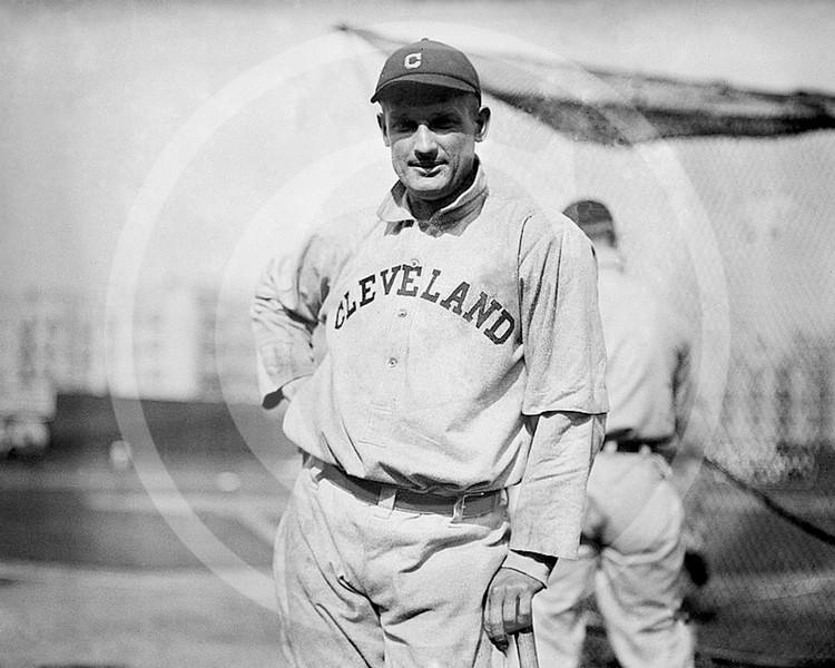 Fred Blanding, Cleveland Naps AL, 1912.