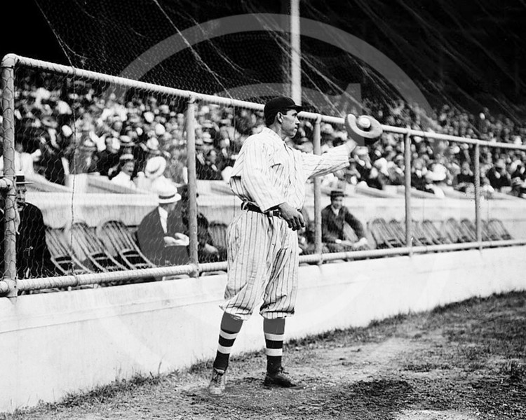 Chief (John Tortes) Meyers, New York Giants NL, 1912.