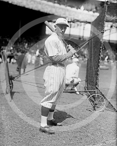 Frankie Frisch, New York Giants NL, 1921.