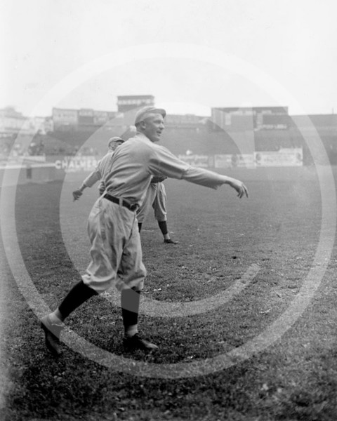 Christy Mathewson, Cincinnati Reds NL, 1916.