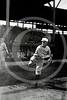 """Charles Roy """"Curly"""" Brown, St. Louis Browns AL, 1912."""