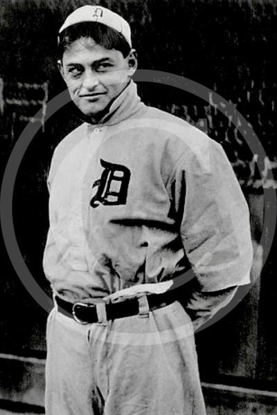 "Charles ""Boss"" Schmidt, Detroit Tigers AL, catcher, 1909."