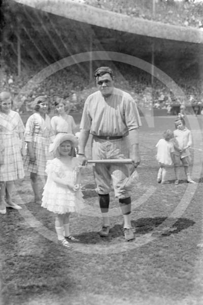 Babe Ruth, New York Yankees AL, 1921.