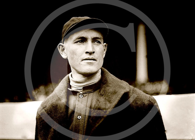 Bill McTigue, Boston Braves NL, 1913.