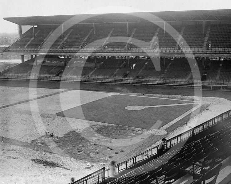 Ebbets Field, Brooklyn Dodgers NL, 1913.