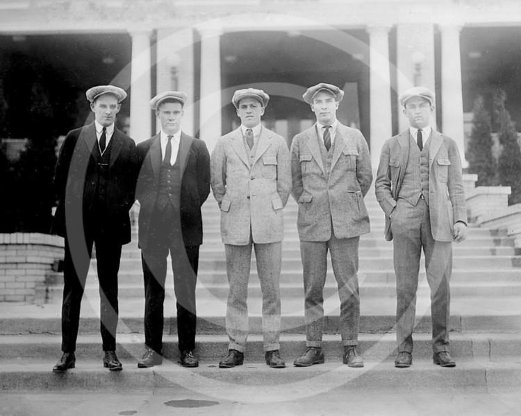 Bubber Jonnard, Johnny Gooch, Samuel Mike Wilson, Firmin Bill Warwick, Jim Mattox, Pittsburgh Pirates NL, 1922.