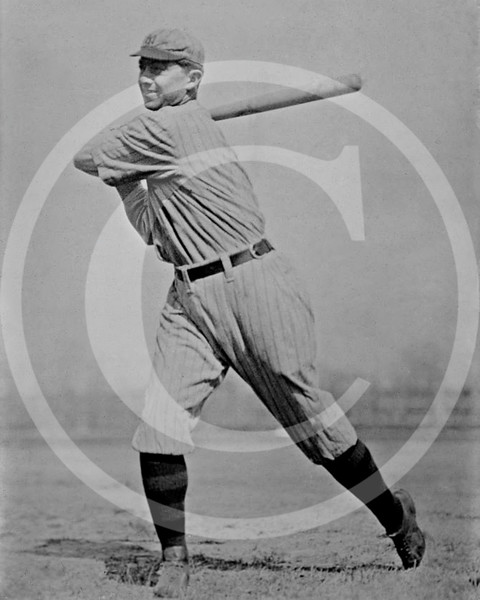 Frank Home Run Baker,  New York  Yankees AL, 1916.