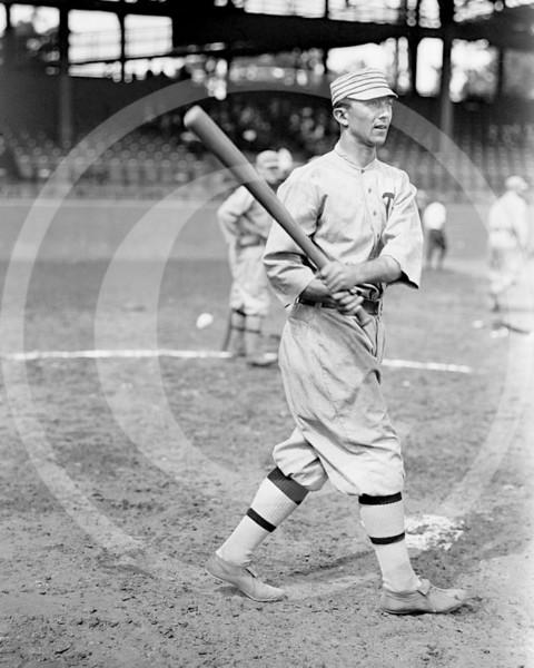 Frank Home Run Baker, Philadelphia Athletics AL, 1914.