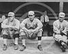 Ernie Shore - Babe Ruth, Ernie Shore & Rube Foster, Boston Red Sox AL,1917.