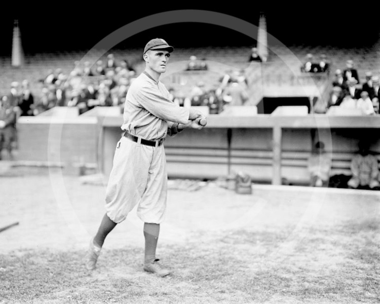 Chick Keating, Chicago Cubs NL, 1914.