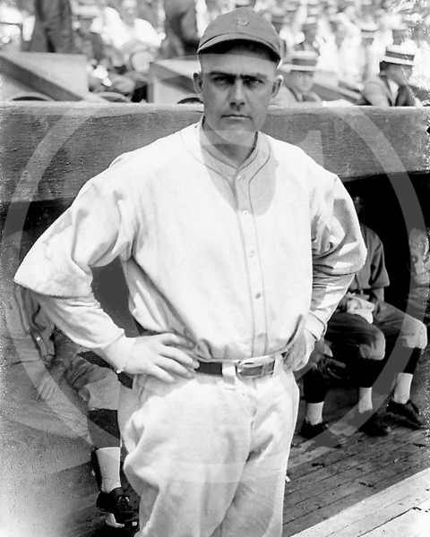Charles Babe Adams, Pittsburgh Pirates NL, 1923.