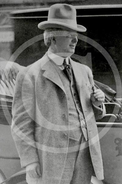 """Charles Albert """"Charlie"""" Comiskey, Chicago White Sox AL, owner 1914."""
