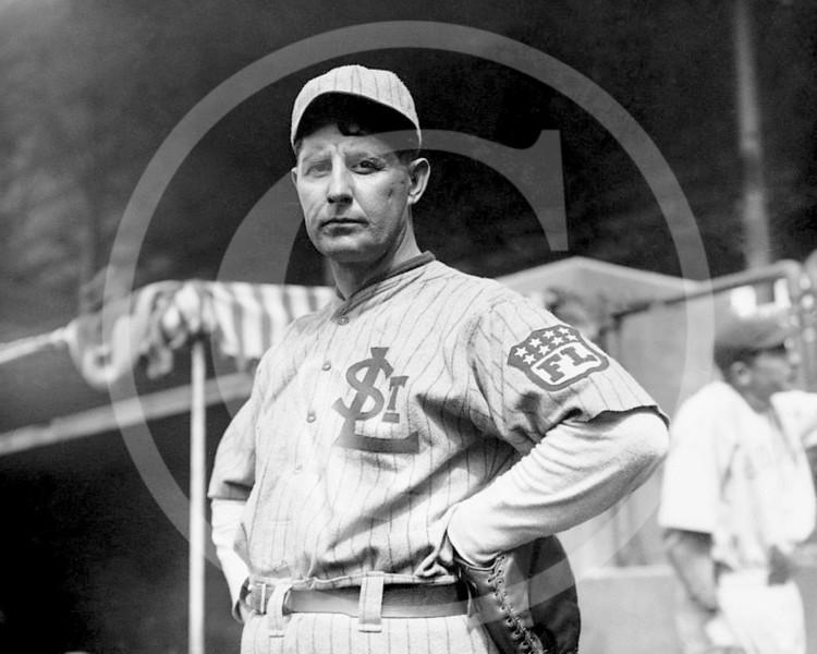 Fielder Allison Jones, manager and player, St. Louis Terriers, Federal League,  1914.