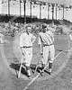 Emil Irish Meusel, New York Giants NL & Bob Meusel, New York Yankees AL 1921.
