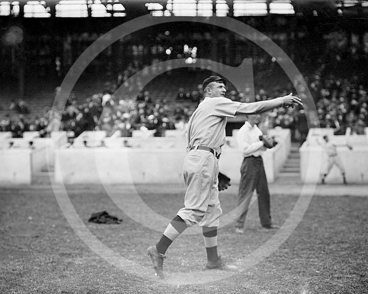 Christy Mathewson, New York Giants NL, 1911.