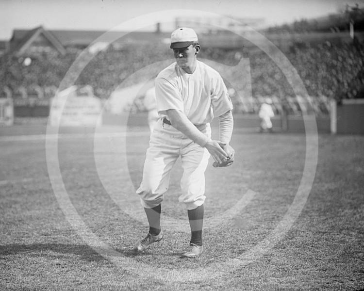 Al Bridwell, New York Giants NL, 1909.
