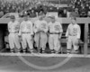 Eddie Murphy, John Shano Collins, Joe Jackson, Happy Felsch and Nemo Leibold, Chicago White Sox AL at 1917 World Series.
