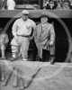 Babe Ruth & John McGraw, New York Giants NL, 23 October 1923.