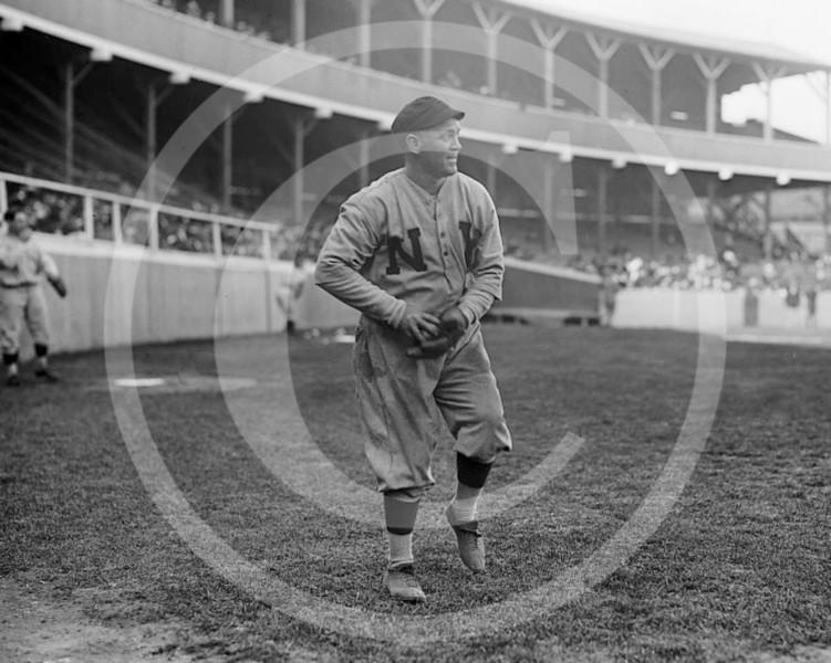 Arthur Terry McGovern, New York Giants NL, 1907.