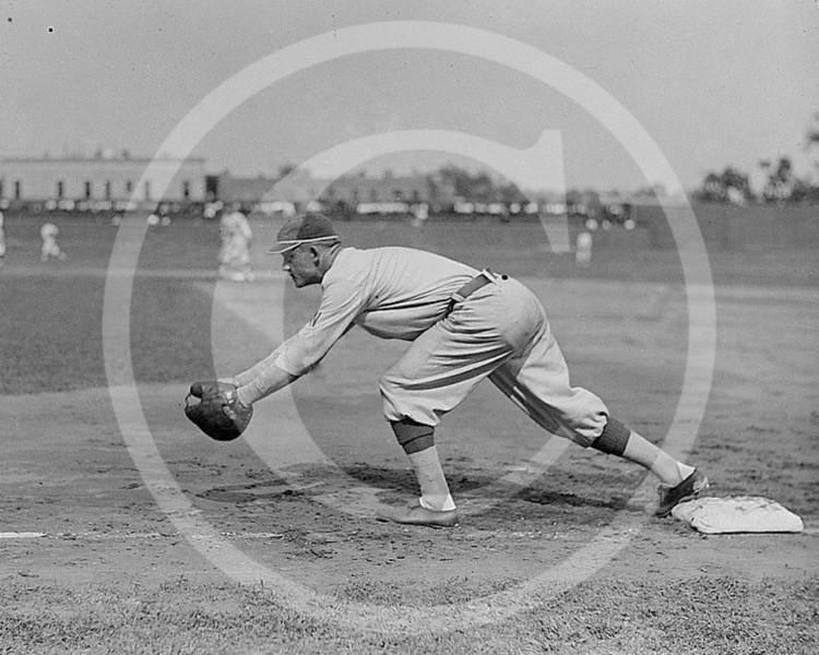 Chick Gandil, Washington Senators AL, 1913.