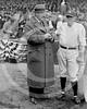 Babe Ruth - H.H. Van Loan, a screen playwright, & Babe Ruth, New York Yankees AL, 1924.