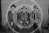 Baseball men at Portland; Fielder Jones, Pop Anson, Billy Sullivan 15 March 1913.