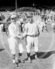 Dave Bancroft, New York Giants NL & Roger Peckinpaugh, New York Yankees AL, 1920.
