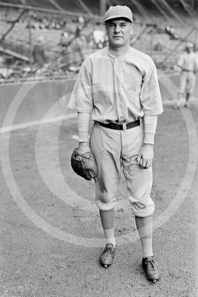 Fred Heimach, Philadelphia Athletics AL, 1923.