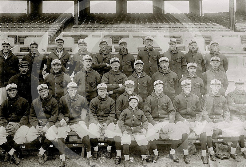 Cincinnati Reds NL, May 1913.