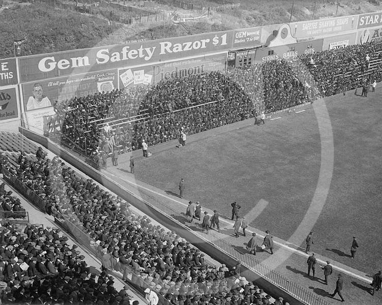 Ebbets Field, Brooklyn NL, 5 October 1920.