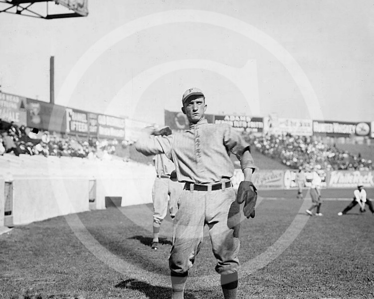 Alex McCarthy, Pittsburgh Pirates NL, at the Polo Grounds, NY 1912.