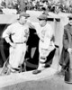Eddie Cicotte - Clarence Pants Rowland, manager of the Chicago White Sox AL, right, talks with his pitcher, Eddie Cicotte, left, in the dugout during a game 1917.