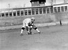 Bill Morley, Knoxville Reds, Appalacian League. Prospect working out with the Washington Senators AL at University of Virginia, Charlottesville 1913.