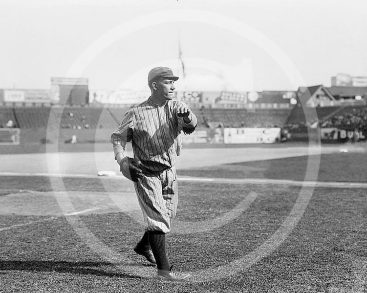 Frank Allen, Brooklyn Trolley Dodgers NL, 1912.