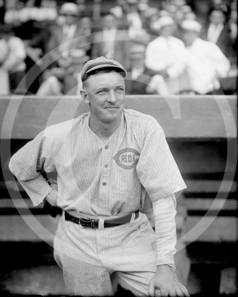 Christy Mathewson, Cincinnati Reds NL, 26 July 1916.