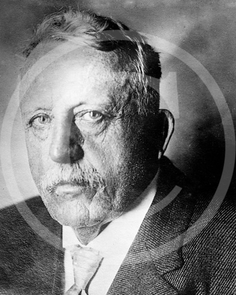 """Allan W. Thurman between 1910 & 1915. He was president of the American Association in 1890 & 1891 where he was known as """" The white Angel of Peace """"."""